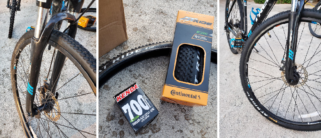 Trek DS8.3 Dual-Sport Bike Tire Upgrade